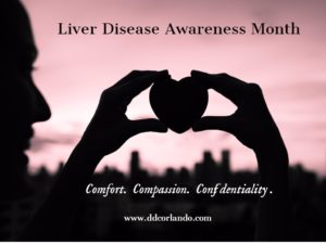 Signs of liver disease might be obscure, but signs of compassion and caring are not, at DDC Orlando.